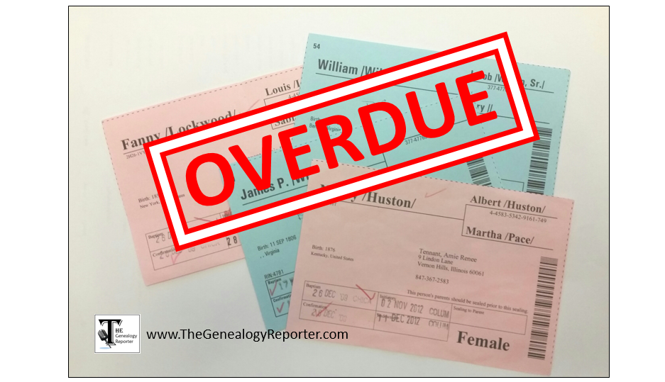 overdue ordinance work