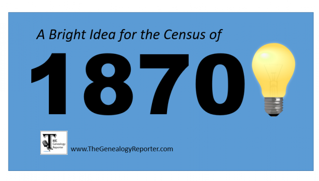 Unique 1870 U.S. Census Question Leads to New Records