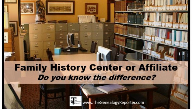 What's a Family History Center Affiliate?