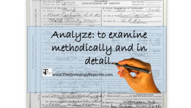 Analyze Genealogy Records Like a Pro: For the Beginner