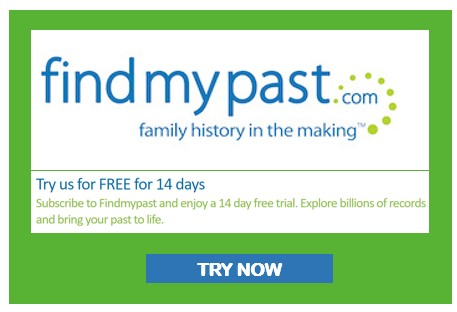 Findmypast 14 Day free trial