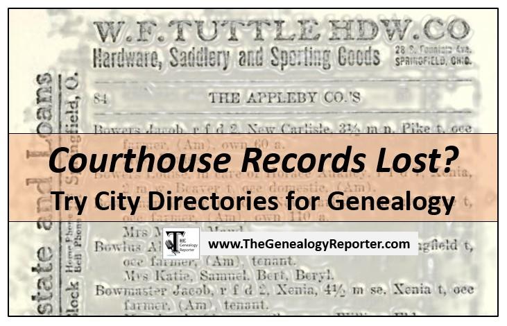 city directories for genealogy alternative