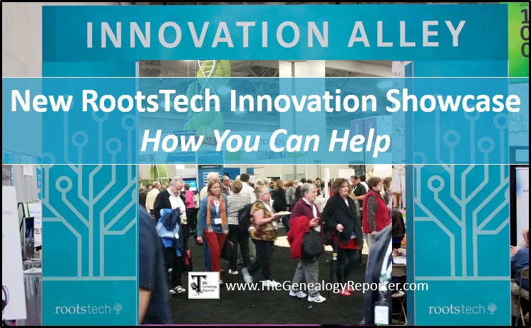 new 2018 RootsTech Innovation Showcase