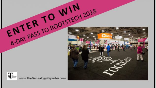 Win a Free 4-day Pass to RootsTech 2018