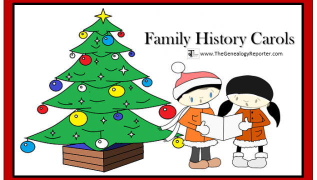 Christmas Carols with a Family History Flair