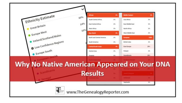 Why Your DNA Results Didn't Show Your Native American Ancestry