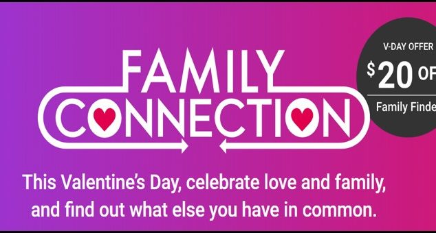 Share the Love: Family Tree DNA Test on Sale for Valentine's Day