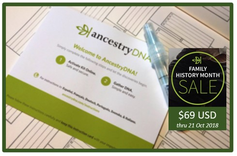 Ancestry DNA Kits On Sale for $69.00 & A New Discovery Package, Too!