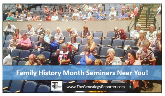 October is Filled with Genealogy Seminars, Conferences, and Workshops