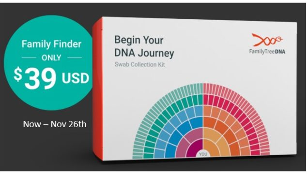 $39 DNA Test from Family Tree DNA