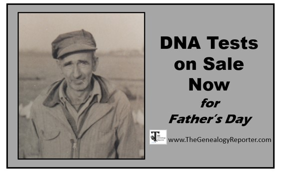 DNA Test Kits on Sale for Father's Day 2018