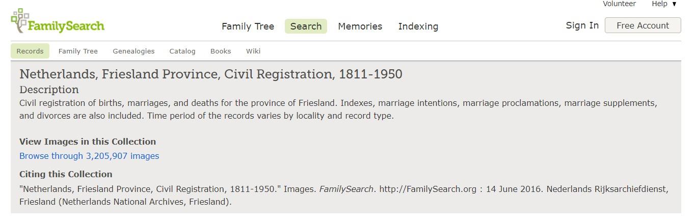 Dutch genealogy research in Netherlands