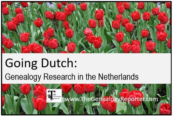 Dutch genealogy research