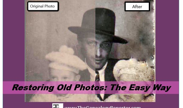 Restoring Old Photos: The Easy Way