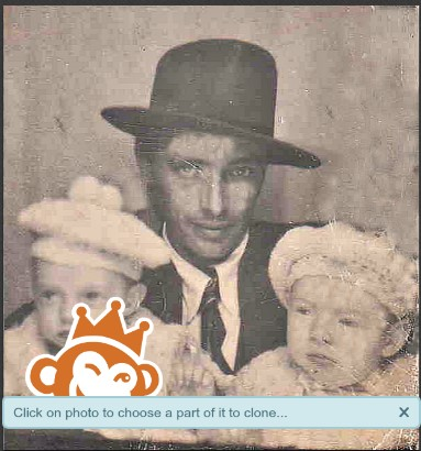 restoring old photos with PicMonkey