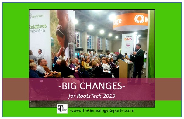 RootsTech 2019 big changes to Expo Hall